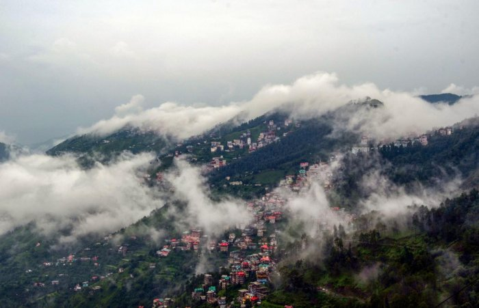 File photo of Shimla where Padma has been residing for the last two years.