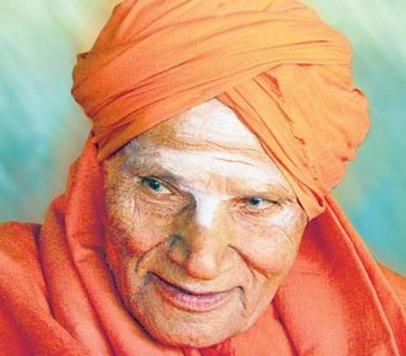 Shivakumara Swami. File photo.
