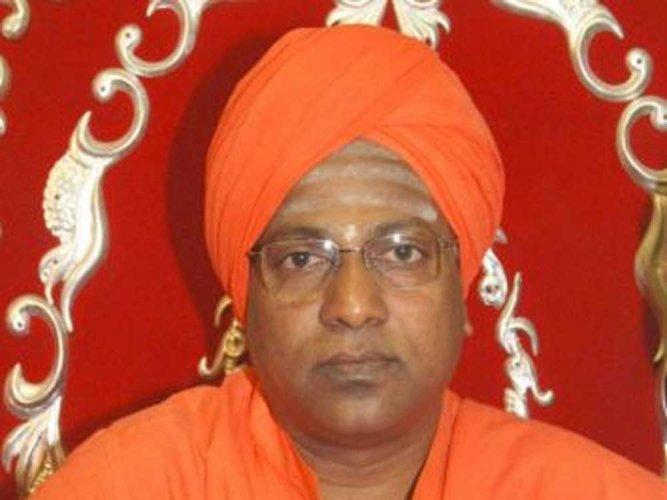 Shri Siddarama Swamiji of Rudrakshimath. DH file photo