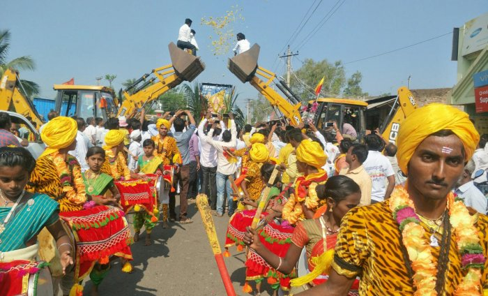 All these years, mayors participated in the Rajyotsava celebration organised by the district administration without holding any celebration at the Corporation premises.