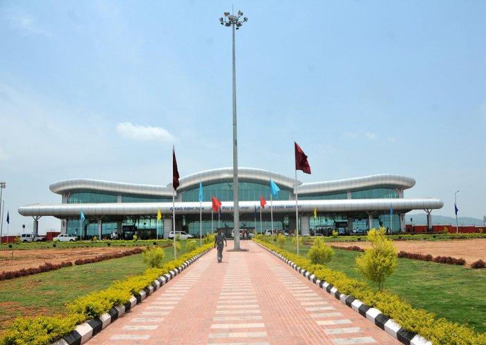 The Mysuru Airport at Mandakalli, on the outskirts of Mysuru.