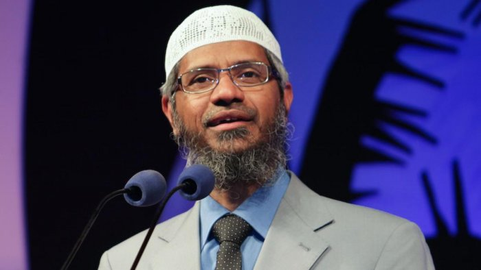 Naik is facing a probe by the NIA and the ED after his sermons on his Peace TV were cited as a reason by Bangladesh for an attack in Dhaka in 2016, which left 22 people dead. (File photo)