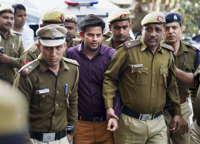 AAP MLA Prakash Jarwal had a mixed day on Monday with a Delhi court convicting him of intimidating a woman in one case, while acquitting him in another case of allegedly outraging a woman's modesty. PTI File Photo