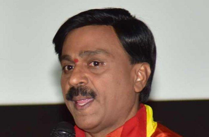 BJP leader G Janardhana Reddy. DH file photo
