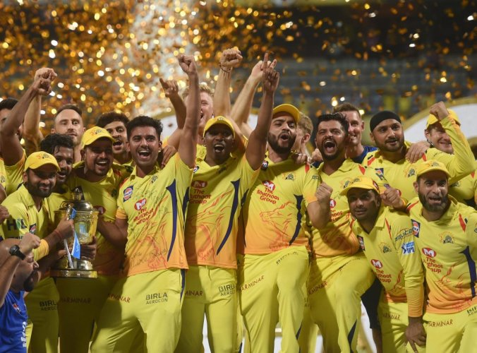 Chennai Super Kings are the defending champions in the Indian Premier League.