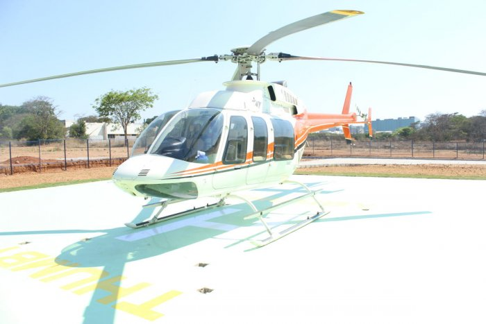 Helitaxi Service from KIAL