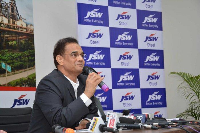 Vinod Nowal, Deputy Managing Director, JSW Steel