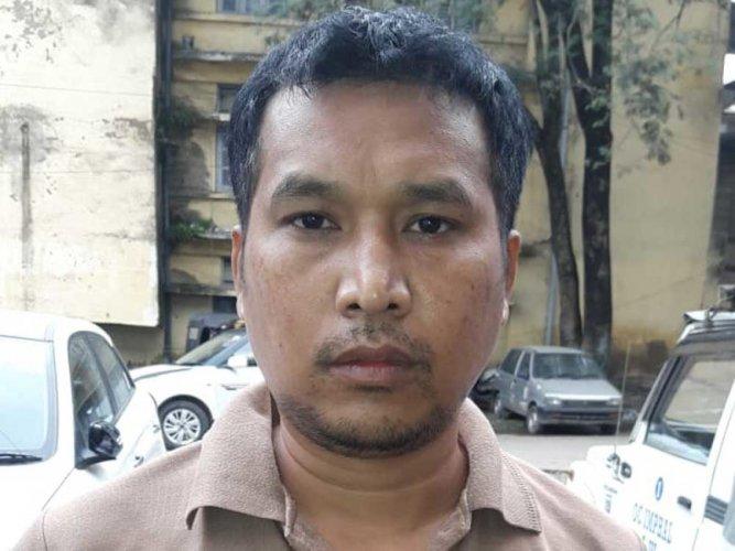 Moirangthem Rana Pratap alias Paikhomba. Image courtesy ANI/Twitter