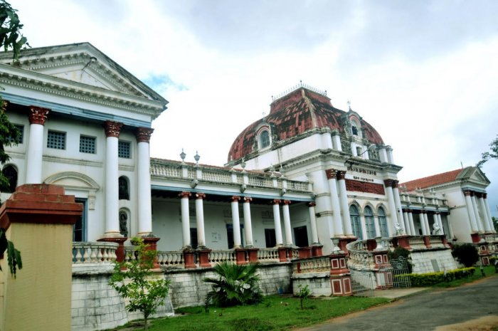 The Oriental Research Institute, one of the heritage buildings in Mysuru. dh file photo