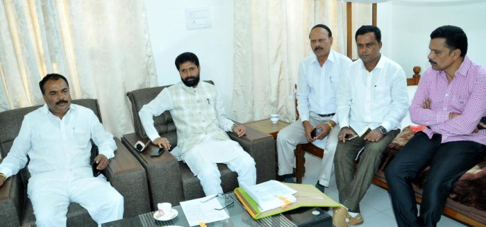 MLA C T Ravi chaired an all-party meeting in Chikkamagaluru.