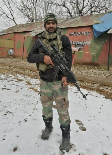 Tumakuru's brave son Naik M Sadiq. DH file photo
