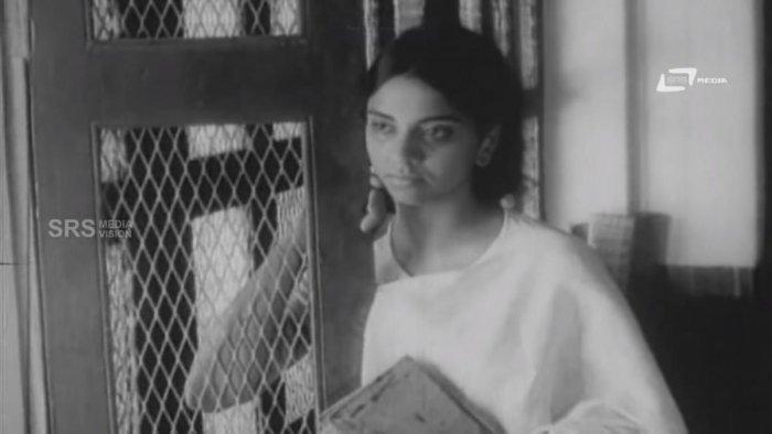 L V Sharada in her debut film Vamsha Vriksha (1972).