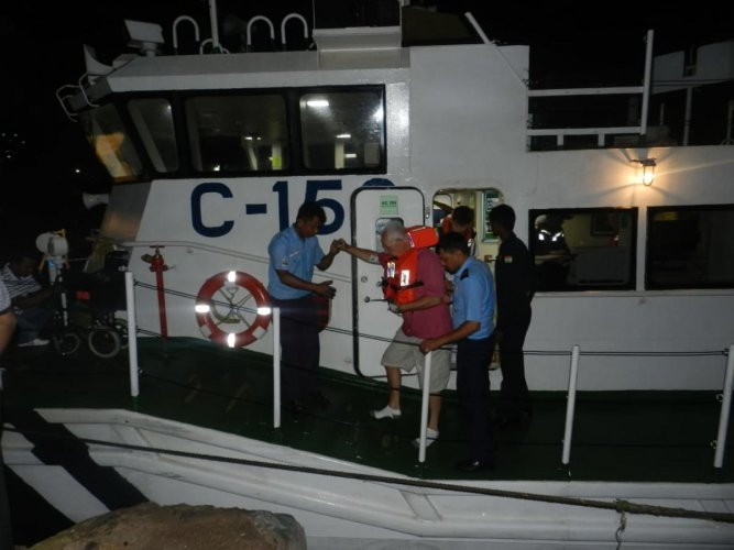 British national Stephen Woodford, 67, suffered a cardiac arrest on his voyage to Abu Dhabi on board RMS MV Queen Mary 2, a trans-Atlantic ocean liner which departed from Kochi.