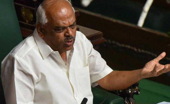 Karnataka Legislative Assembly Speaker K R Ramesh Kumar. DH Photo