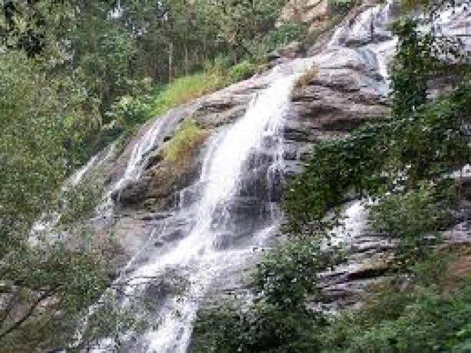 Kiliyur Falls. PHOTOS BY AUTHOR