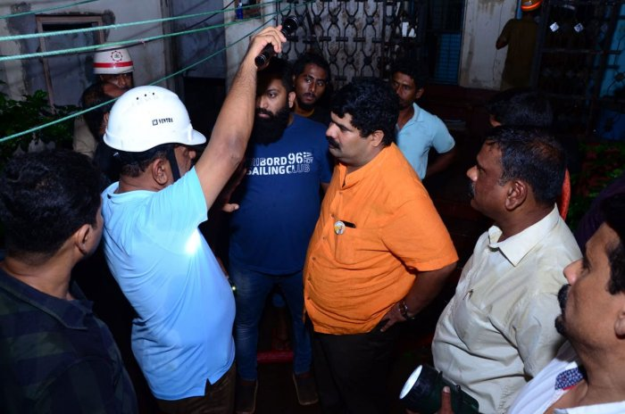 Mangaluru South MLA Vedavyas Kamath who rushed to the spot told DH that alternative temporary arrangements had been made for seven families who had lost their homes to the blaze. DH photo