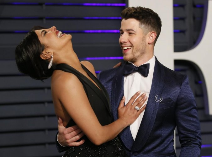 Priyanka Chopra and Nick Jonas. Reuters file photo