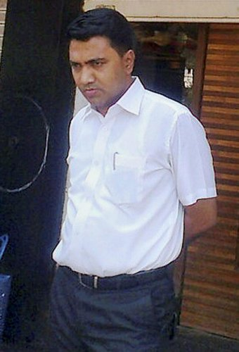 Pramod Sawant. PTI File photo