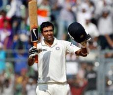 Ashwin sparkles with ton after Tendulkar shock