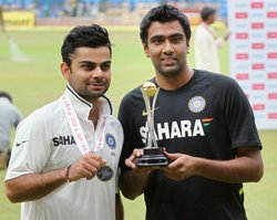 Ashwin and Kohli achieve career-best rankings