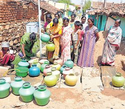 Chamarajanagar faces drinking water hiccups