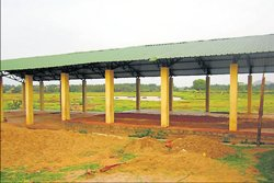 Chamarajanagar: Building for village shandy stands neglected