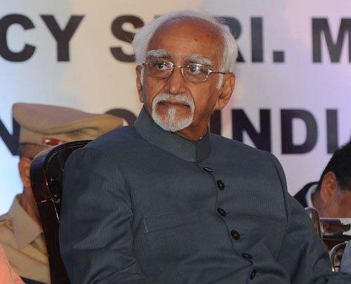 Faux pas at Ansari event irks Kerala govt