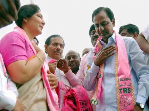 Congress leaders against alliance with TRS