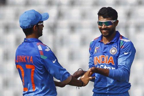 Afghan batsmen find Jadeja, Ashwin too hot to handle
