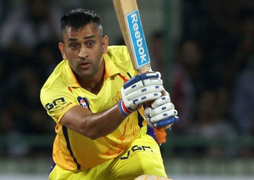 CSK post a massive 205 for four against KXIP