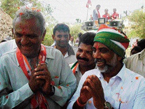 Congress-CPI combine surges ahead in Khammam