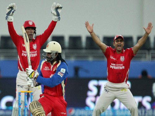KXIP bowlers shine as RCB restricted to 124/8