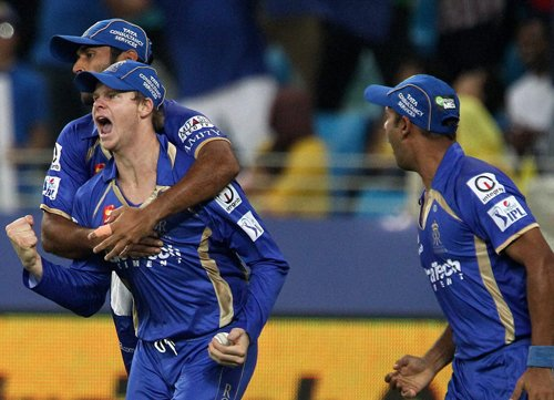 Rajasthan Royals elect to bat against Knight Riders