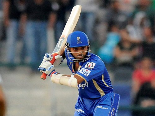 Rahane's 72 takes Rajasthan Royals to 152 for five vs KKR