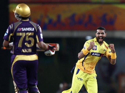 Dominant CSK romp to 34-run win over KKR in IPL