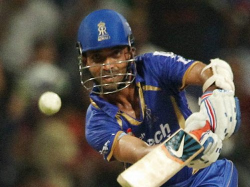 Rajasthan Royals post 170 for six against Knight Riders