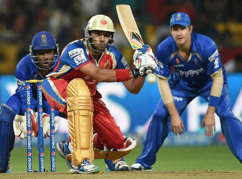 Rajasthan Royals stun RCB by five wickets