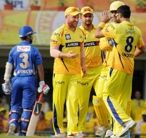 CSK cruise home by five wickets against Rajasthan Royals