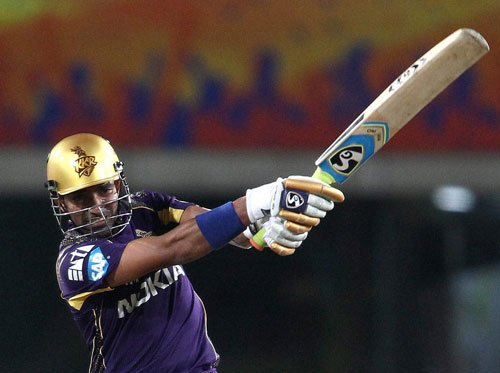 KKR beat CSK by eight wickets