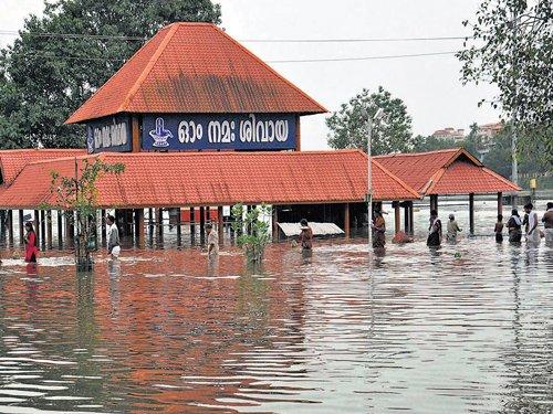 Downpour in Kerala