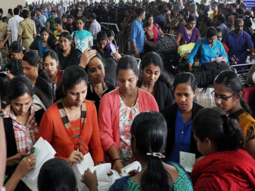 44 nurses return to Kerala from Libya
