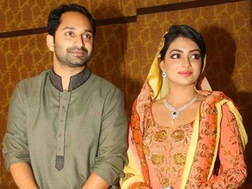 Fahad Fazil weds Nazriya