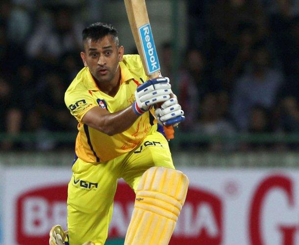 Dhoni, Bravo lift CSK to 157/4 against KKR