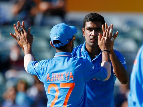 Ashwin turns it India's way