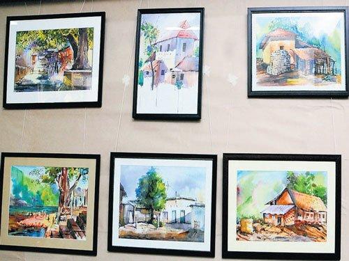 Kinnal works brighten 'Drushya Kavya' expo