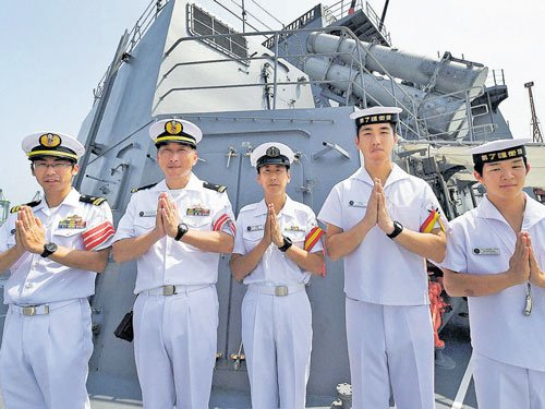 Malabar-15 naval exercise begins