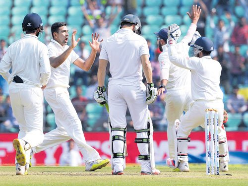 Ashwin spins India to victory