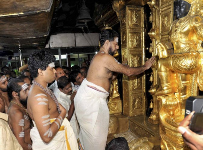 SC questions practice banning entry of women at Sabarimala