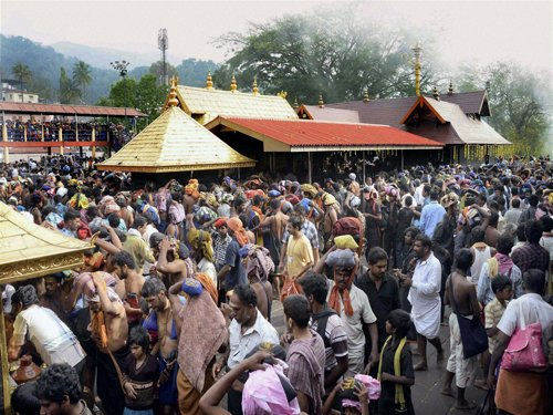 Apex court questions ban on entry of women at Sabarimala
