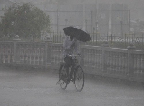 Heavy rain  in Koppal